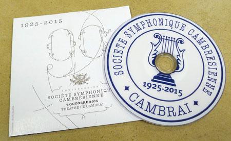 dvd souvenir société symphonique de cambrai